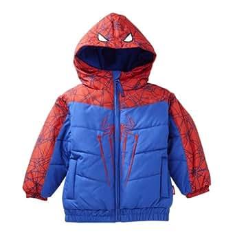 Amazon.com: Marvel Comices Toddler Boys Blue Spiderman Ski