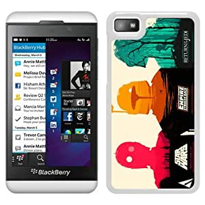 Beautiful Designed Cover Case For Blackberry Z10 With Star Wars White Phone Case