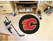 Fanmats Calgary Flames Puck Floor Mat