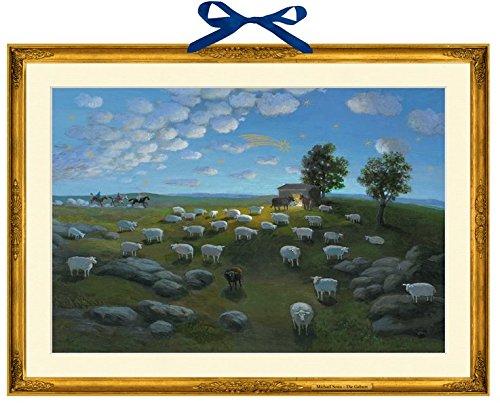 Die Geburt Wandkalender Michael Sowa Coppenrath F Weihnachten Advent / Geschenkband