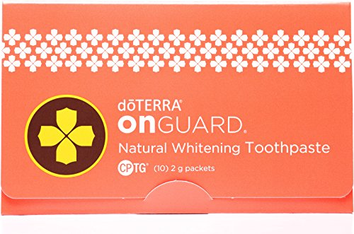 doTERRA - On Guard Natural Whitening Toothpaste Samples - 10 Pack