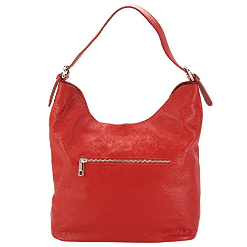 Chiaro Rosso Bolso Leather Florence Market Mujer De Hombro nB7840Uq