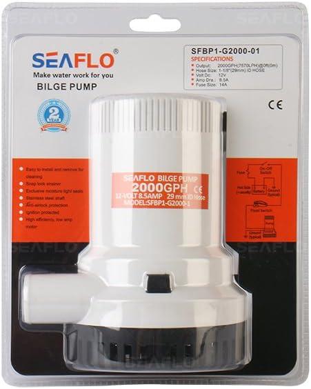 Seaflo–126LPM Bomba de sentina