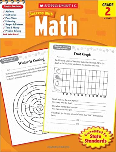 Scholastic Success with Math: Grade 2: Amazon.ca: Scholastic ...