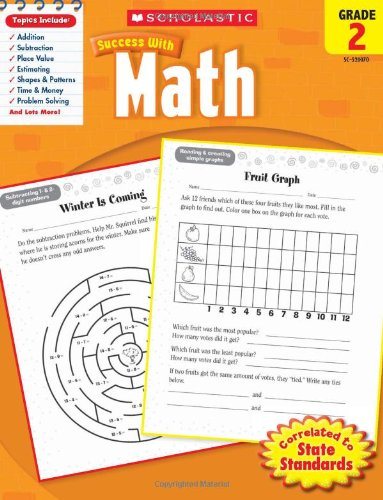 Scholastic Success with Math, Grade 2 (Scholastic Success with Workbooks: Math) ()