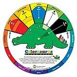 Children's Coloursaurus Colour Wheel Mixing Guide
