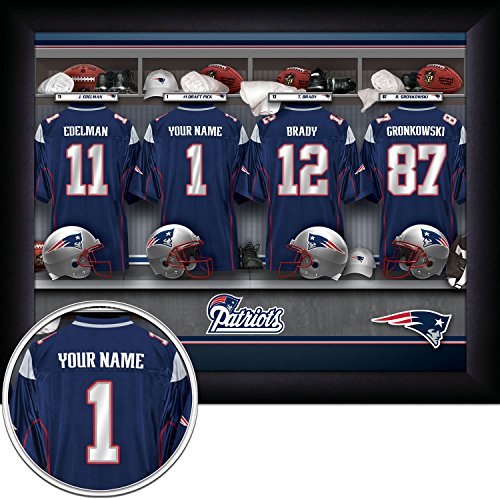 New England Patriots Locker Room - 2