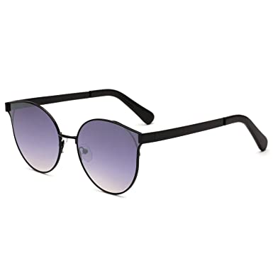 c736467aa1225 Amazon.com  sunglasses ladies Europe and the United States fashion metal sunglasses  2018 new round foreign trade  Clothing
