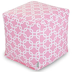 Majestic Home Goods Links Cube Ottoman, Small