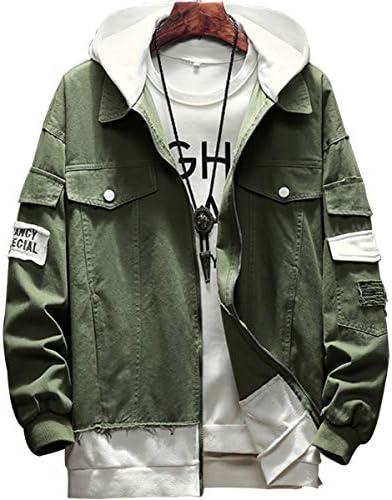 ジャケット メンズ コート おしゃれ 無地 メンズ パーカー フード 付き ゆったり フーディ長袖 秋服 カジュアル おおきいサイズ 春 秋 冬