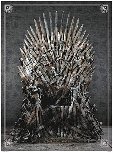 Dark Horse Deluxe Game of Thrones: Iron Throne Deluxe Puzzle (1000 Piece)