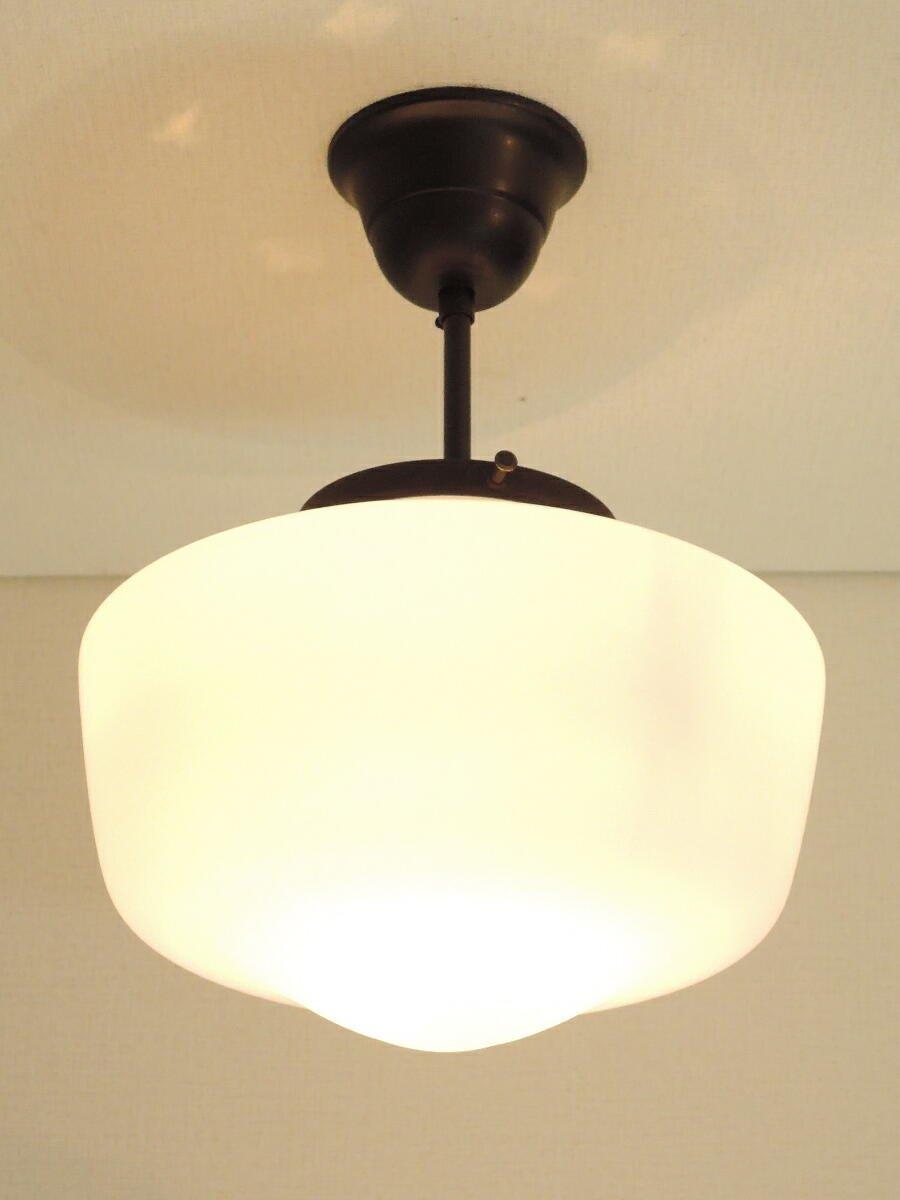 コンコルディア照明 シーリングライト真鍮製 ブロンズ色 引掛けシーリングタイプ 大きめなスクールシェード 181/MAT-PB394/H/Z B0773GR3R9