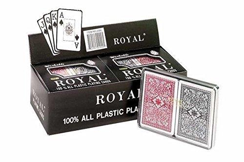 almacén al por mayor CHH Royal Royal Royal 100% plástico Big   puente doble cubiertas pantalla, Pack de 6  hasta 42% de descuento