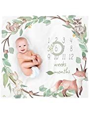Itzy Ritzy Muslin Blanket Set with Two Date Markers