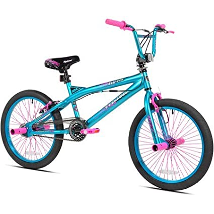Amazoncom Kent 20 Trouble Girls Bike Aquapink Sports