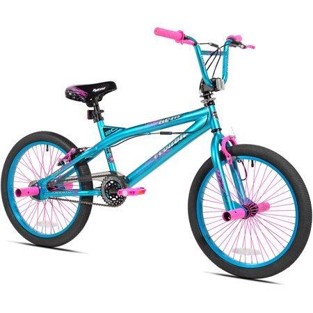 """Kent.. 20"""" Trouble Girls' Bike, Aqua/Pink"""