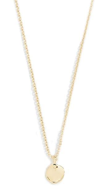 aaf78cf8 Amazon.com: gorjana Women's Chloe Charm Adjustable Necklace, Gold ...