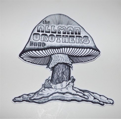 ALLMAN BROTHERS Die Cut Vinyl STICKER DECAL Laptop Skateboard iPad Car Refrig - Tracking Australia To Usps