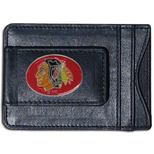 NHL Chicago Blackhawks Genuine Leather Cash and -