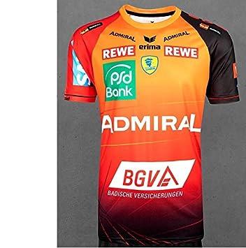 Rhein Neckar Lowen Championsleague Trikot Orange Rot Herren Xxxxl