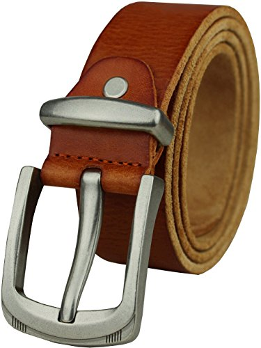 Heepliday Men's Fashion Leather 15003 Belt Medium 32-34 (Medium Mens Leather)