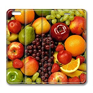 All of Fruits DIY Leather iphone 6 plus Case Perfect By Custom Service