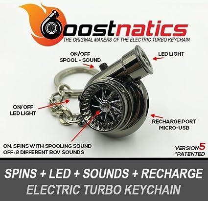boostnatics eléctrico recargable electrónico Turbo Llavero ...