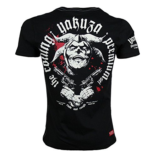 Yakuza Premium T-Shirt 2217, Größe:S;Farbe:schwarz