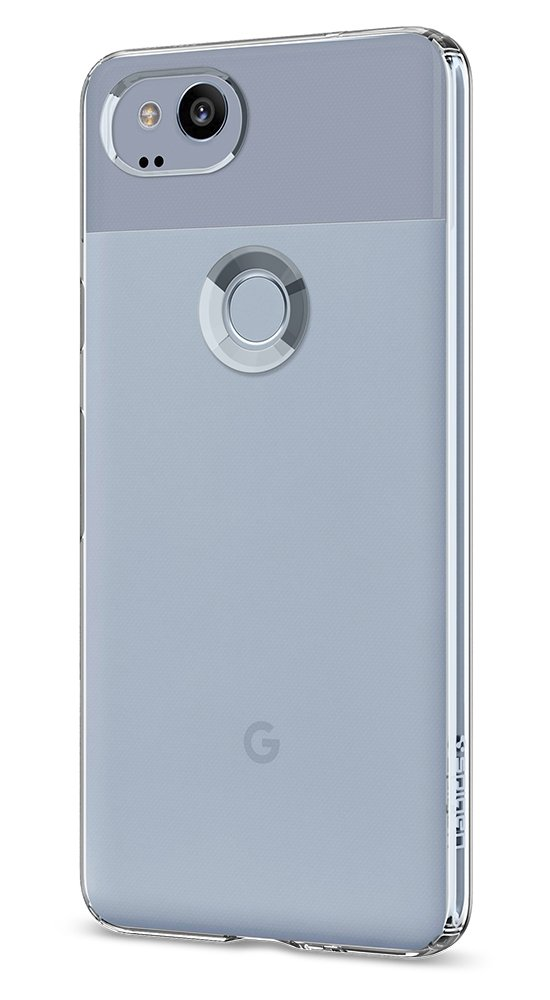 Spigen Liquid Crystal Pixel 2 Case with Light but Durable Flexible Clear TPU Protection for Google Pixel 2 (2017) - Crystal Clear