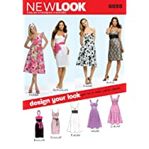New Look Pattern Misses Dresses Size A