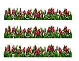 Christmas Ornaments Edible Icing Image Cake Border