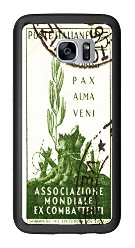 1959 Italy Postage Stamp Gentle Peace Has Come for Samsung Galaxy S7 Edge G935 Case Cover by Atomic Market
