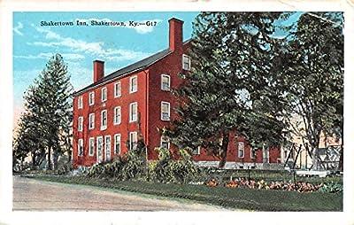 Inn Shakertown, Kentucky KY USA Shaker Postcard