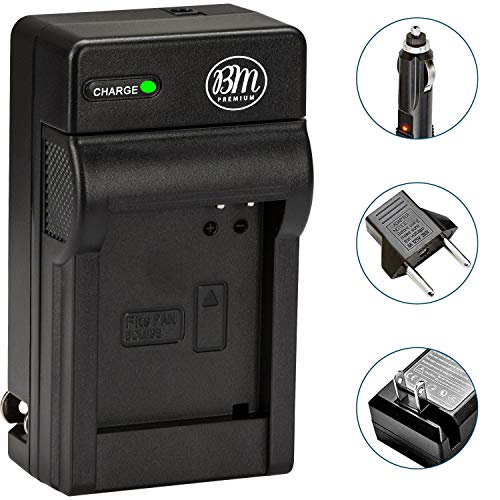 BIG MIKES ELECTRONICS BM Premium DMW-BCG10 Battery Charger for Panasonic Lumix DMC-ZS15, DMC-ZS19, DMC-ZS20, DMC-ZS25 Digital Cameras