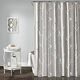 Tree Shower Curtain Lush Decor Lush Décor Bird on the Tree Shower Curtain, 72