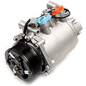 ECCPP A/C Compressor with Clutch fit for 2002-2006 Honda CR-V CRV 2.4L CO 10663AC Car Air AC Compressors Kit