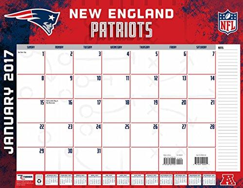 Turner Licensing Sport 2017 New England Patriots Desk Pad