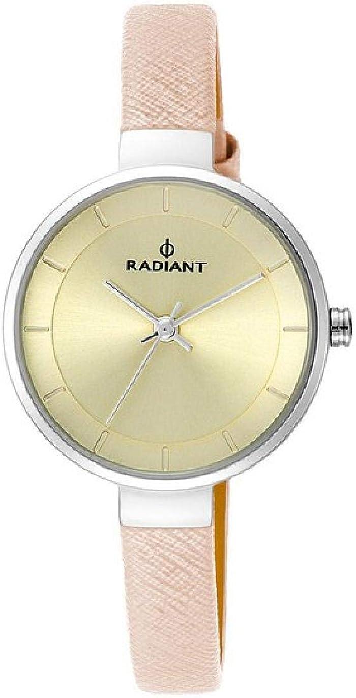 RADIANT Reloj Analógico para Mujer de Cuarzo con Correa en Piel RA455201