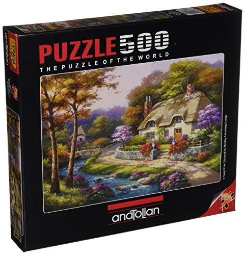 Anatolian Spring Cottage Jigsaw Puzzle (500 Piece)