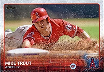 Amazoncom 2015 Topps Limited Glossy 300 Mike Trout