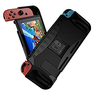 Jiarusig Compatible with Nintendo Switch Case, Switch Protective Case, Rugged Slim Soft Switch Grip Case Cover with Shockproof+ Anti-Scratch Design Compatible with Nintendo Switch/Joy-Con Controller