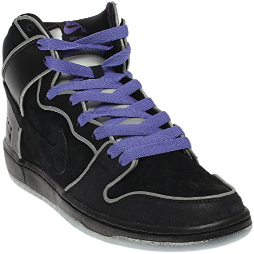 NIKE SB DUNK HIGH PURPLE BOX MEN'S SNEAKERS 833456-002