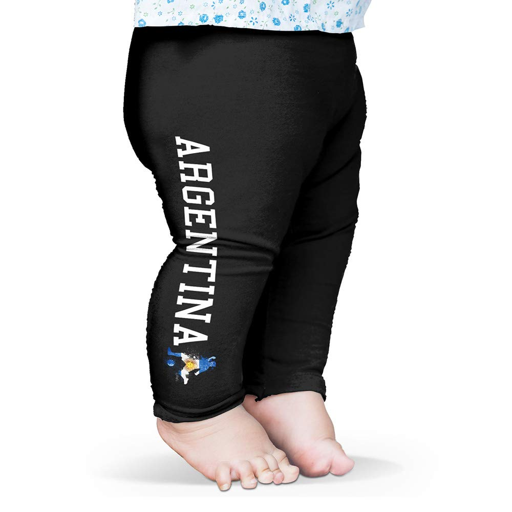 TWISTED ENVY Baby Leggings Football Soccer Silhouette Argentina