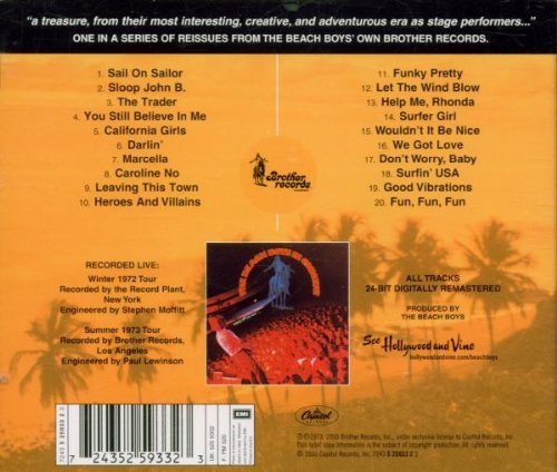 The Beach Boys in Concert by Beach Boys, The