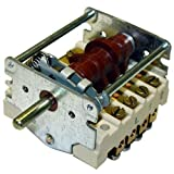 Bakers Pride M1282X Rotary Switch 7Ea Lug Connectors 1-1/8 Mt Ctrs For Bakers Pride 421503