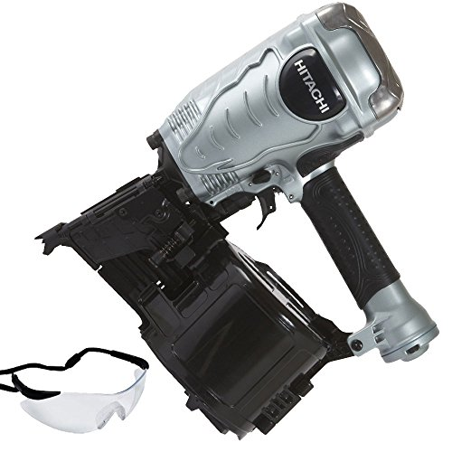 Hitachi NV90AGS 1-3/4-Inch to 3-1/2-Inch Coil Framing Nailer