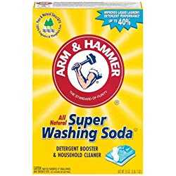 Washing soda for homemade laundry detergent