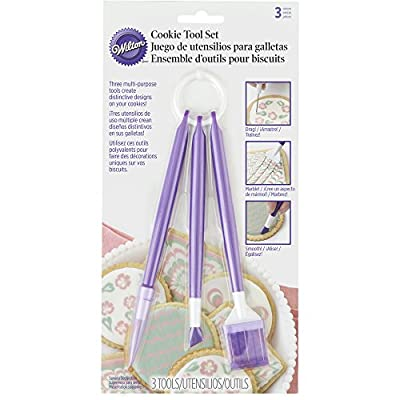 Wilton 409-7722 Cookie Flooding Decorating Kit