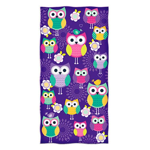 Owl Design Beach Towel by Dawhud Direct ()