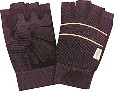 Glove Leather Fingerless Xl